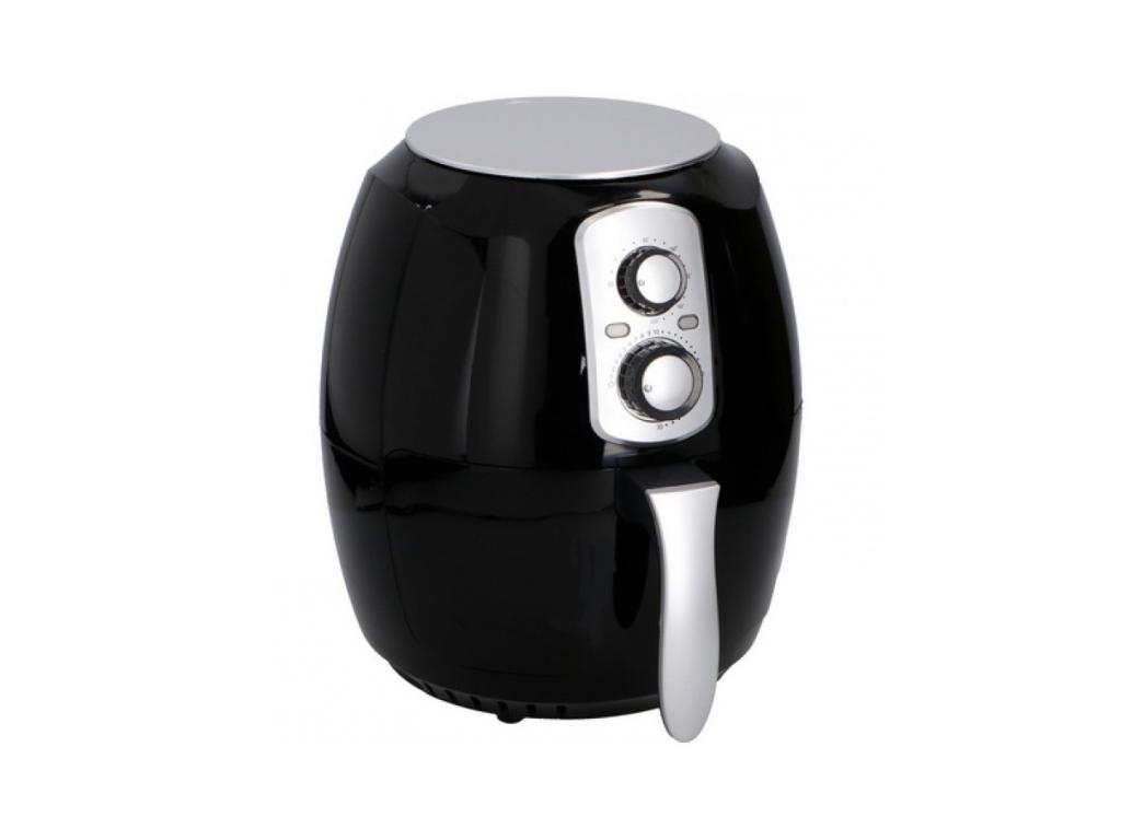 Cuisinier Deluxe Φριτέζα Αέρος 3.6L 1400W για Υγιεινό μαγείρεμα χωρίς ή με ελάχιστο λάδι, σε μαύρο χρώμα, 06864 - Cuisinier Deluxe