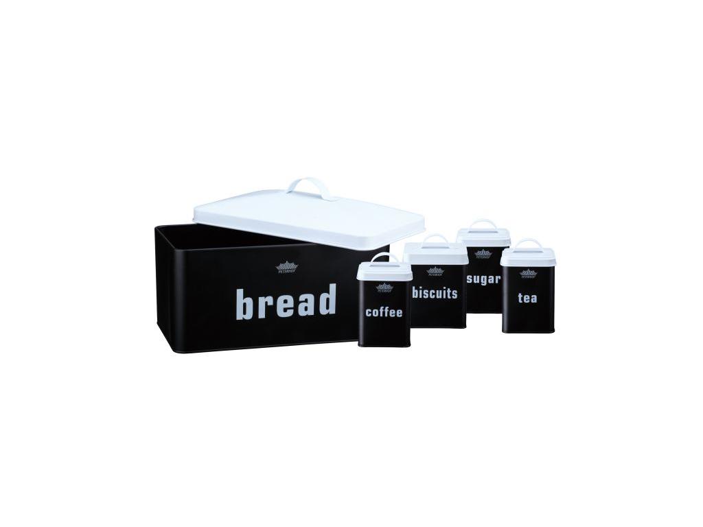 Μεταλλική Ψωμιέρα Σετ 10 τεμαχίων, με 4 Βαζάκια Αποθήκευσης για καφέ ζάχαρη τσάι κουζίνα   κουτιά κουζίνας και ψωμιέρες