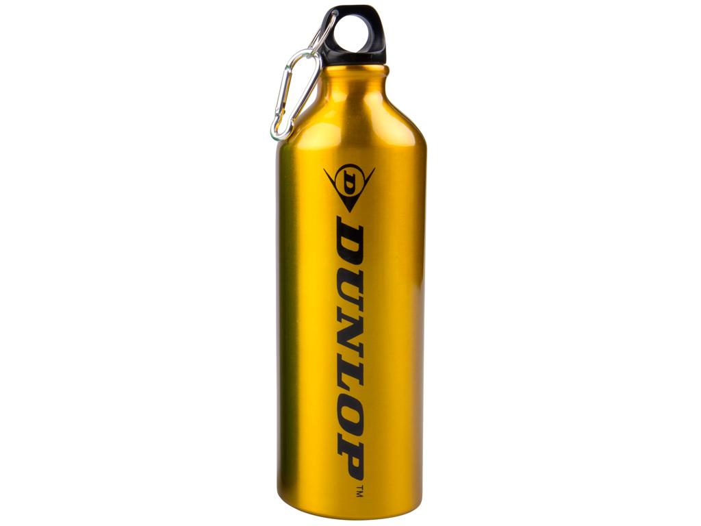 Dunlop Αλουμινένιο Μπουκάλι Παγούρι 750Ml με κρίκο ασφαλείας σε Χρυσό Χρώμα για  κουζίνα   θερμός και παγούρια