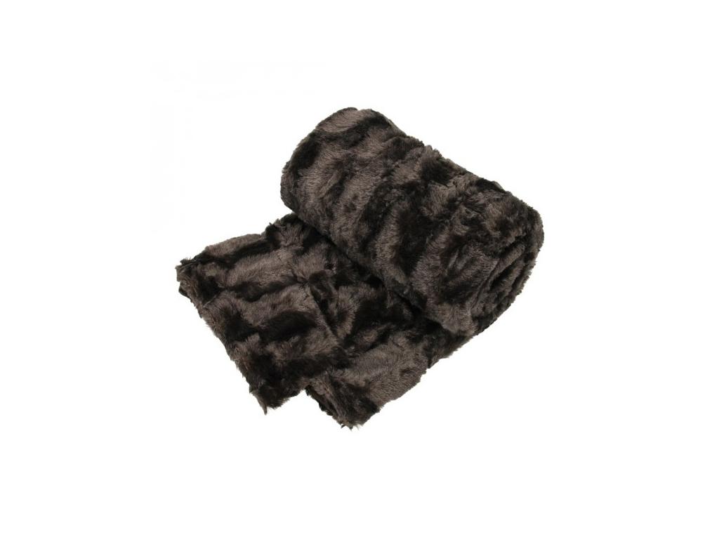 Κουβέρτα fleece καναπέ 120x150cm, 27910 Καφέ - Cb λευκά είδη   χαλιά και κουβέρτες