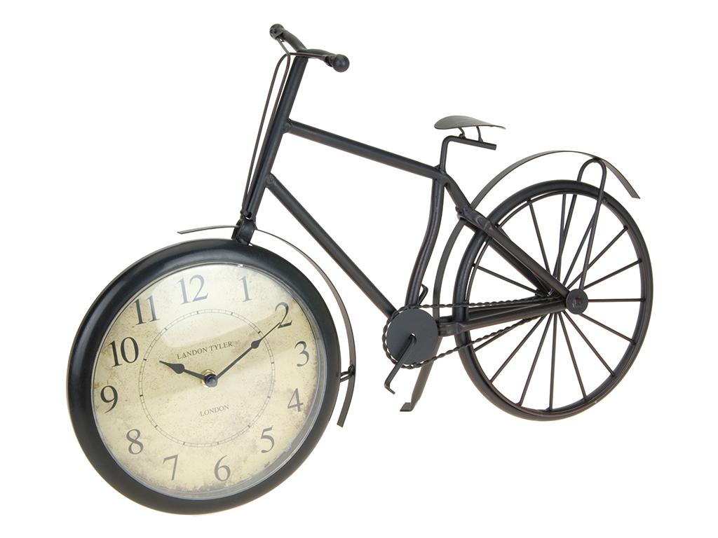Διακοσμητικό Ρολόι Ρετρό Vintage Επιτραπέζιο Μεταλλικό σε σχέδιο Ποδηλάτου 51x33 διακόσμηση και φωτισμός   διακόσμηση τραπεζίου και ανθοδοχεία