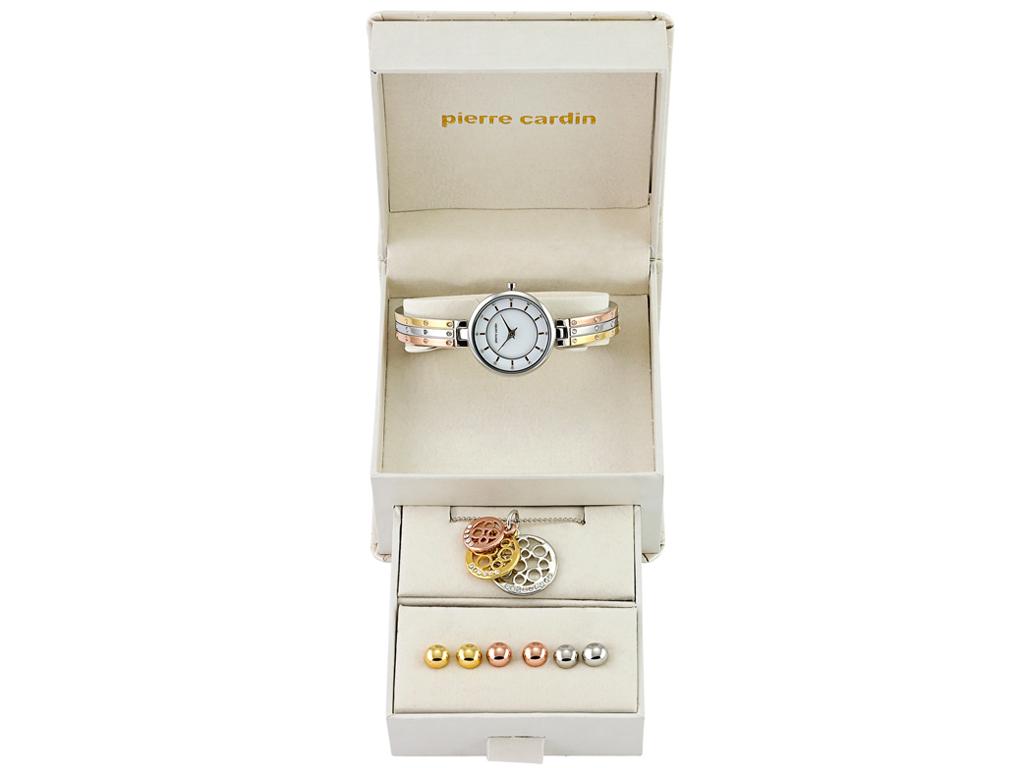 Σετ συλλογή Κοσμημάτων με κολιέ, 3 σετ σκουλαρίκια και ρολόι σε συσκευασία δώρου εκδηλώσεις και γιορτές   είδη δώρου