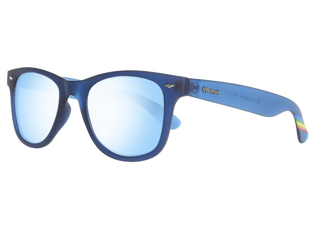 Polaroid Unisex Γυαλιά Ηλίου με Μπλε σκελετό, Μπλε Φακό Καθρέφτη με 100% προστασ γυαλιά ηλίου   unisex γυαλιά ηλίου