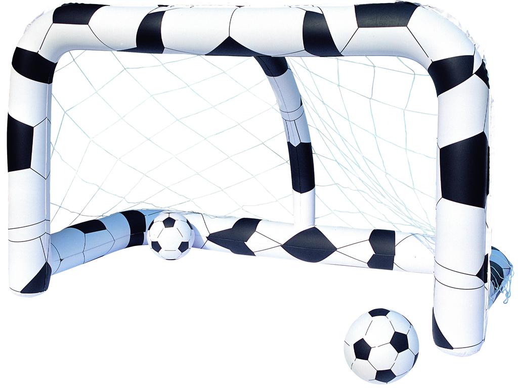 Σετ Φουσκωτό Τέρμα Ποδοσφαίρου 213x122x137cm με δύο Μπάλες Ποδοσφαίρου, Bestway  κήπος και βεράντα   φουσκωτά παιχνίδια και πισίνες