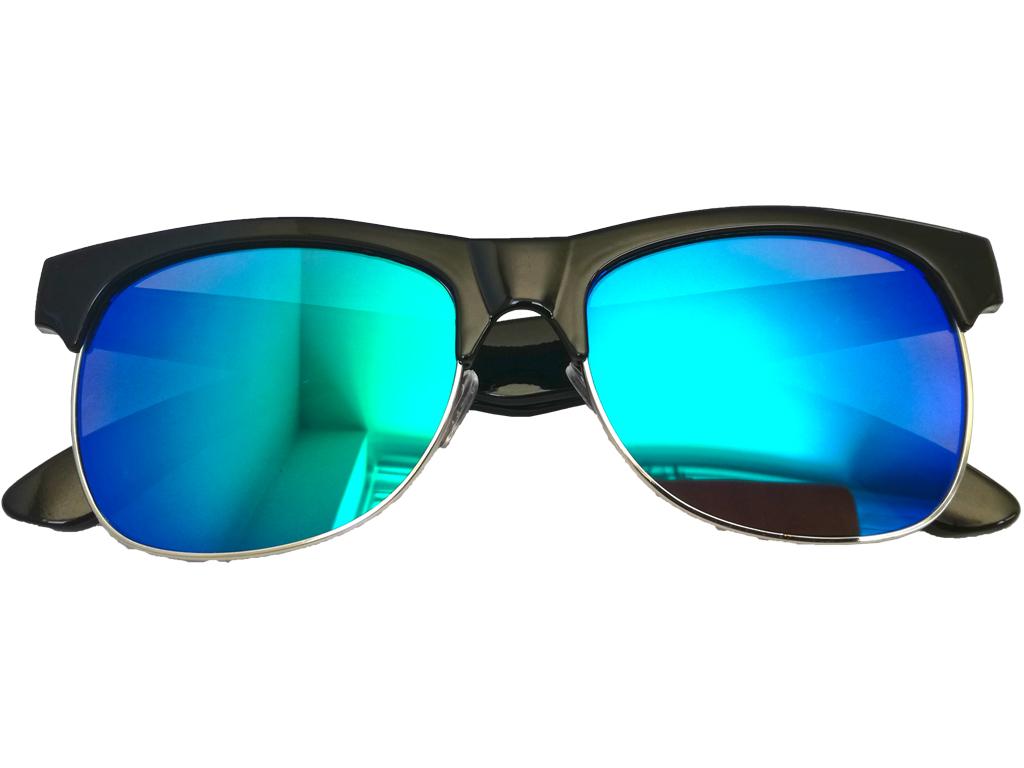 Unisex Γυαλιά Ηλίου με Πλαστικό Σκελετό, Στρογγυλό Φακό Καθρέφτη και προστασία α γυαλιά ηλίου   unisex γυαλιά ηλίου