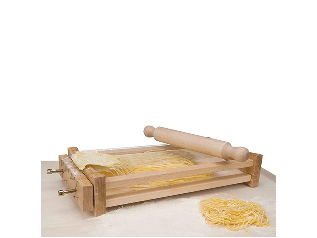 """Εργαλείο Κουζίνας Ξύλινη Συσκευή Κοπής Ζυμαρικών """"Κιθάρα"""" για Λεπτό Σπαγέττι, Ep αξεσουάρ και εργαλεία κουζίνας   άλλα αξεσουάρ κουζίνας"""