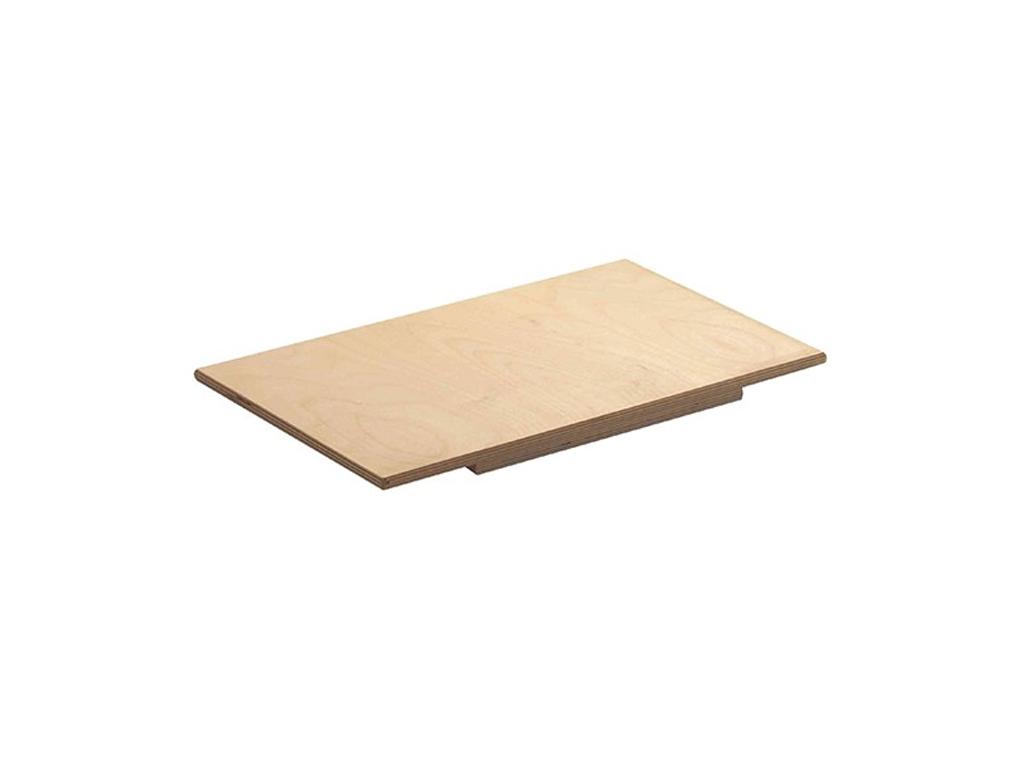 Εργαλείο Κουζίνας Επιφάνεια κοπής και επεργασίας Ζυμαρικών από φυσικό Ξύλο, διαστάσεων 50x33x1,2 cm, Eppicotispai 651255 - Eppicotispai