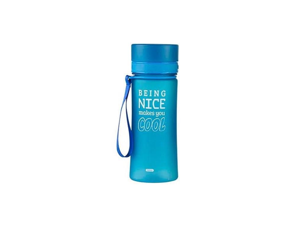 Πλαστικό Μπουκάλι Παγούρι Διάφανο 500ml για Ποδηλάτες, Εκδρομείς και Αθλητές με  κουζίνα   θερμός και παγούρια