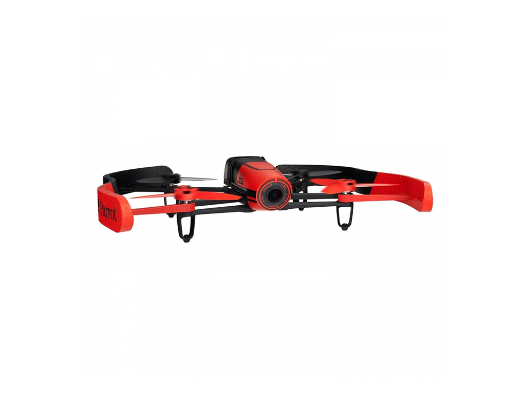 Parrot Bebop red Drone WiFi Τηλεκατευθυνόμενο Drone Ελικόπτερο Tετρακόπτερο με κ παιχνίδια   τηλεκατευθυνόμενα  πίστες και αυτοκινητάκια