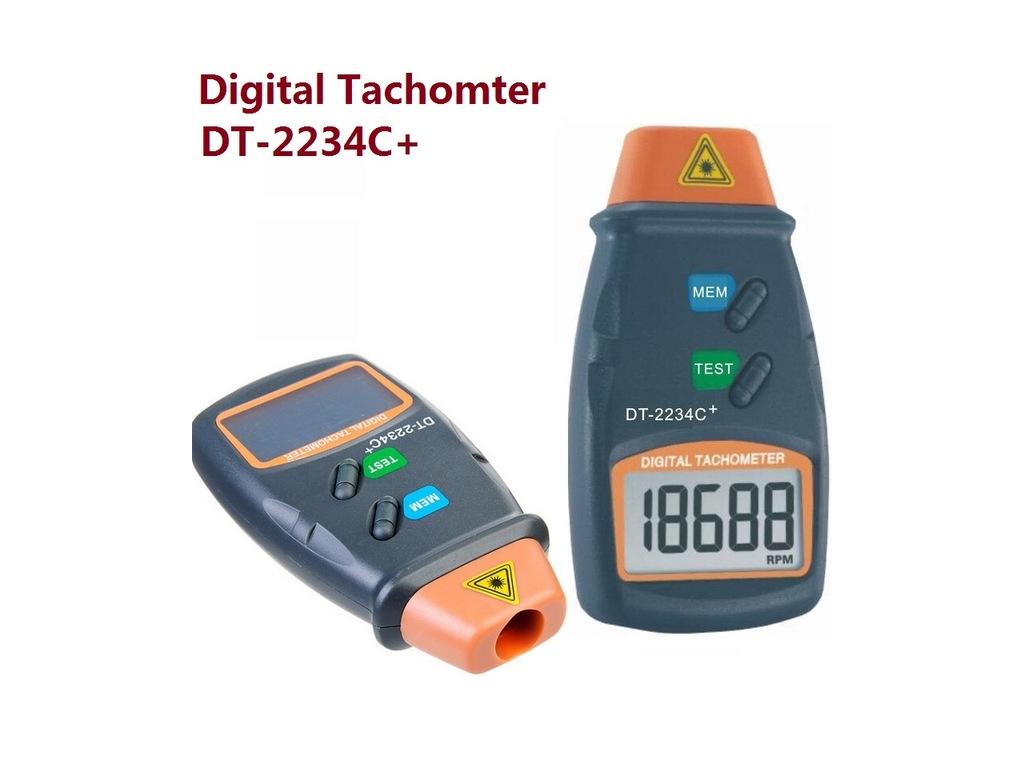 Ψηφιακό Οπτικό Στροφόμετρο Ακτίνων Λέιζερ DT-2234C+ - Cb