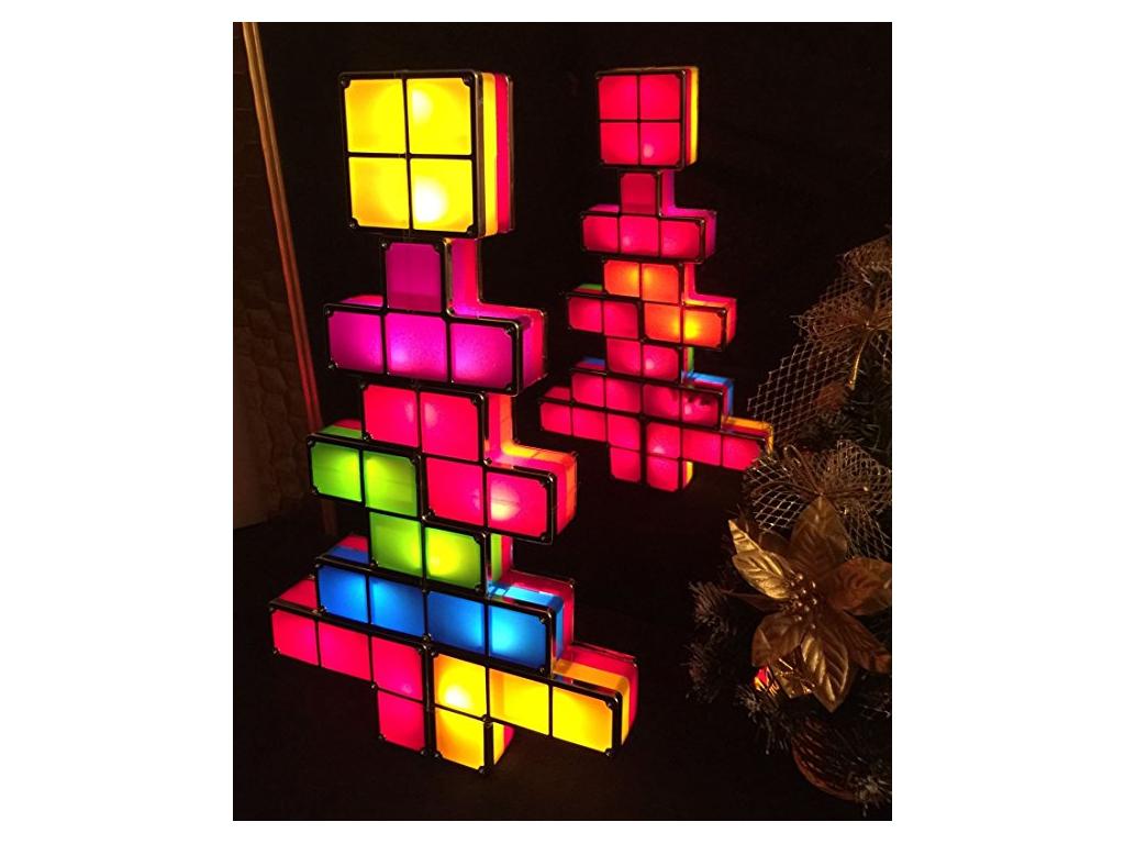 Διακοσμητικό Φωτιζόμενο Tetris Lights Χριστουγεννιάτικο δέντρο που συναρμολογείτ διακόσμηση και φωτισμός   φωτιστικά