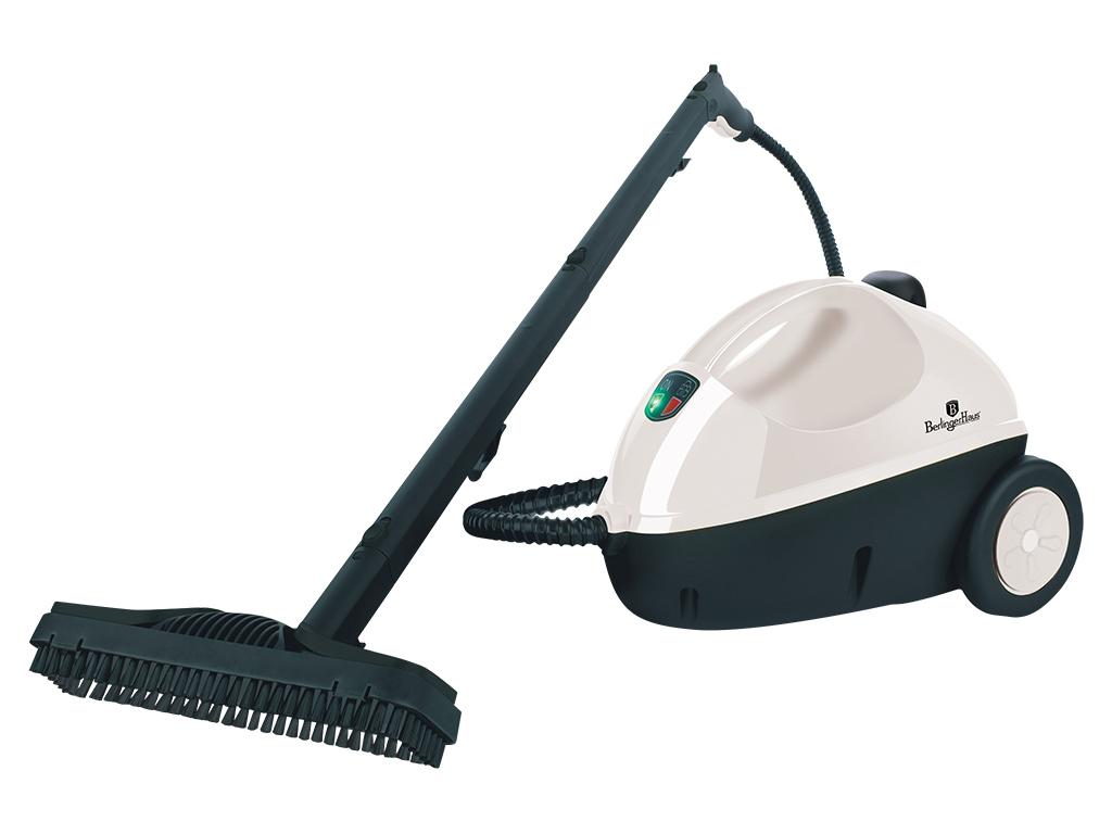 Σκούπα Ατμοκαθαριστής 1500W για Απόλυτη Καθαριότητα χωρίς Απορρυπαντικά, Berling