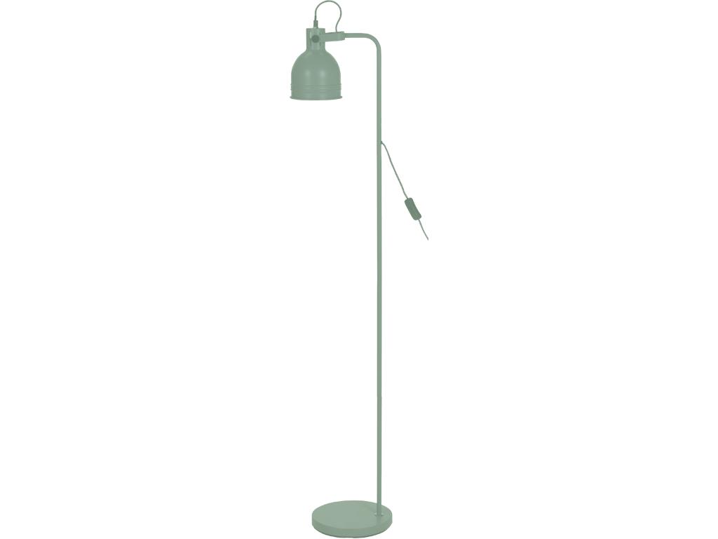 Μεταλλικό Φωτιστικό Δαπέδου E27 ύψους 136cm με Διακόπτη, CX8200060 Πράσινο - Cb διακόσμηση και φωτισμός   φωτιστικά