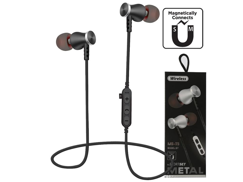 Ασύρματα Ακουστικά Bluetooth με Μαγνήτη και Μικρόφωνο Συμβατά με Android και iPh ήχος   ασύρματα ακουστικά