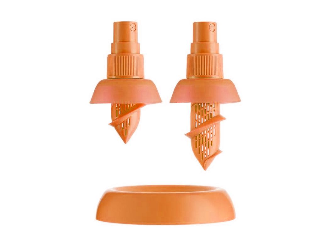 2 spray λεμονιού (μικρό & μεγάλο) & 1 βάση στήριξης! Πορτοκαλί - TV αξεσουάρ και εργαλεία κουζίνας   άλλα αξεσουάρ κουζίνας