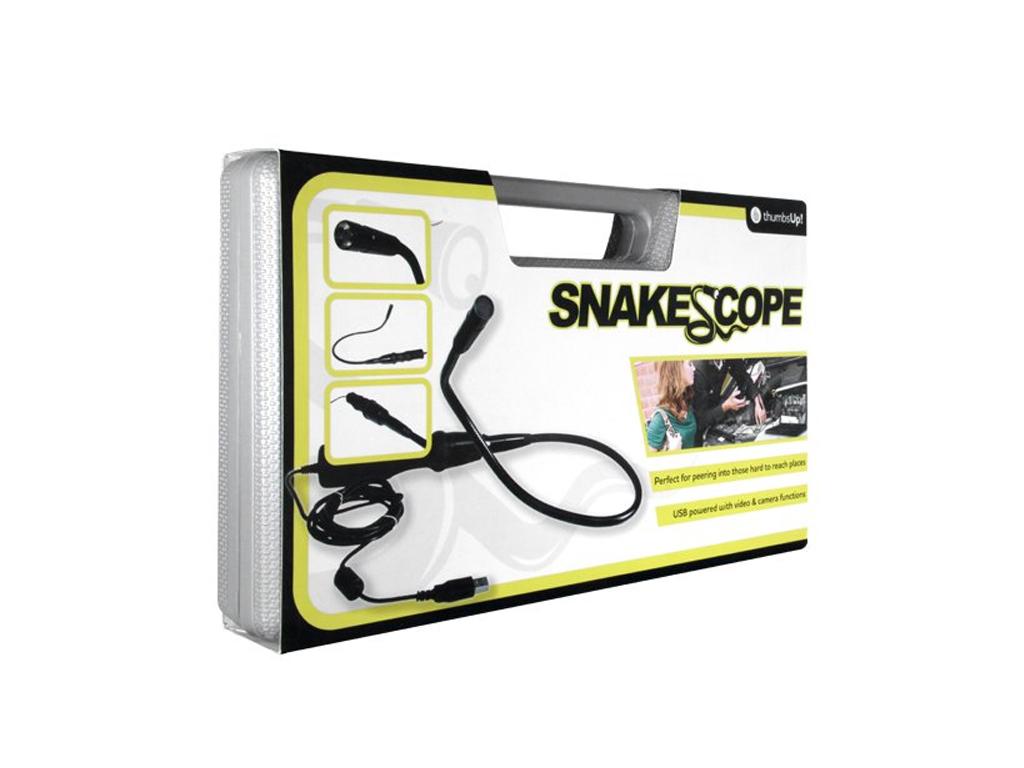 Ενδοσκοπική Ευλύγιστη Κάμερα USB με Led Φωτισμό και μήκος καλωδίου 2.80m για σύνδεση στον H/Y και το Laptop, Snake Scope SNKSCP - Cb
