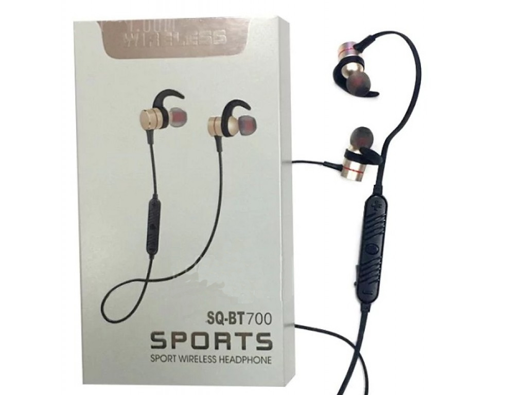 a23296bde7 Wireless Bluetooth Headset with Microphone Compatible with Android and  iPhone in Gold