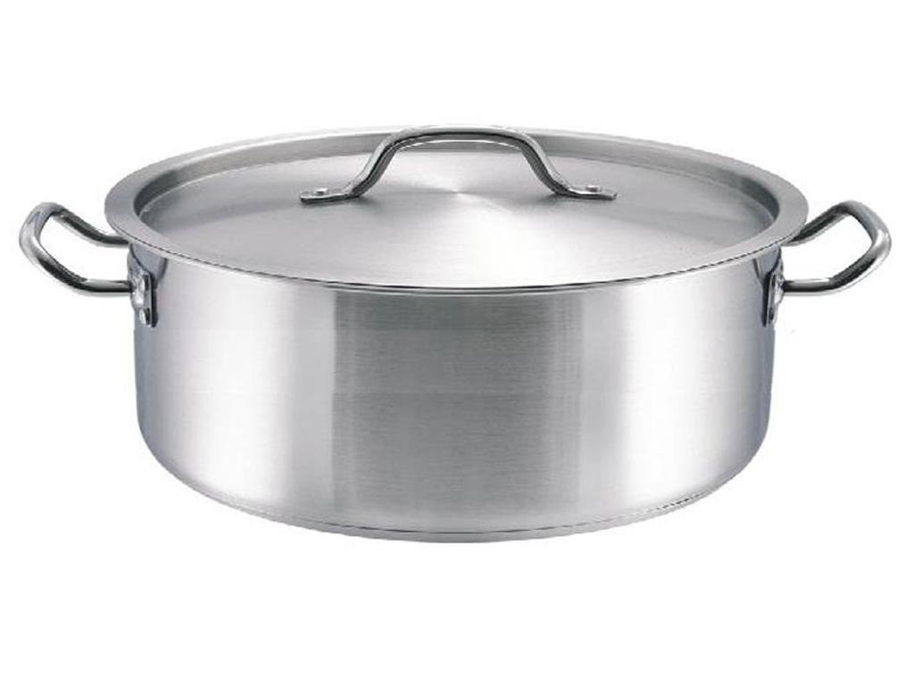 BLAUMANN BL-1329 Κατσαρόλα χαμηλή 16cm με μεταλλικό καπάκι - Blaumann μαγειρικά σκεύη   κατσαρόλες