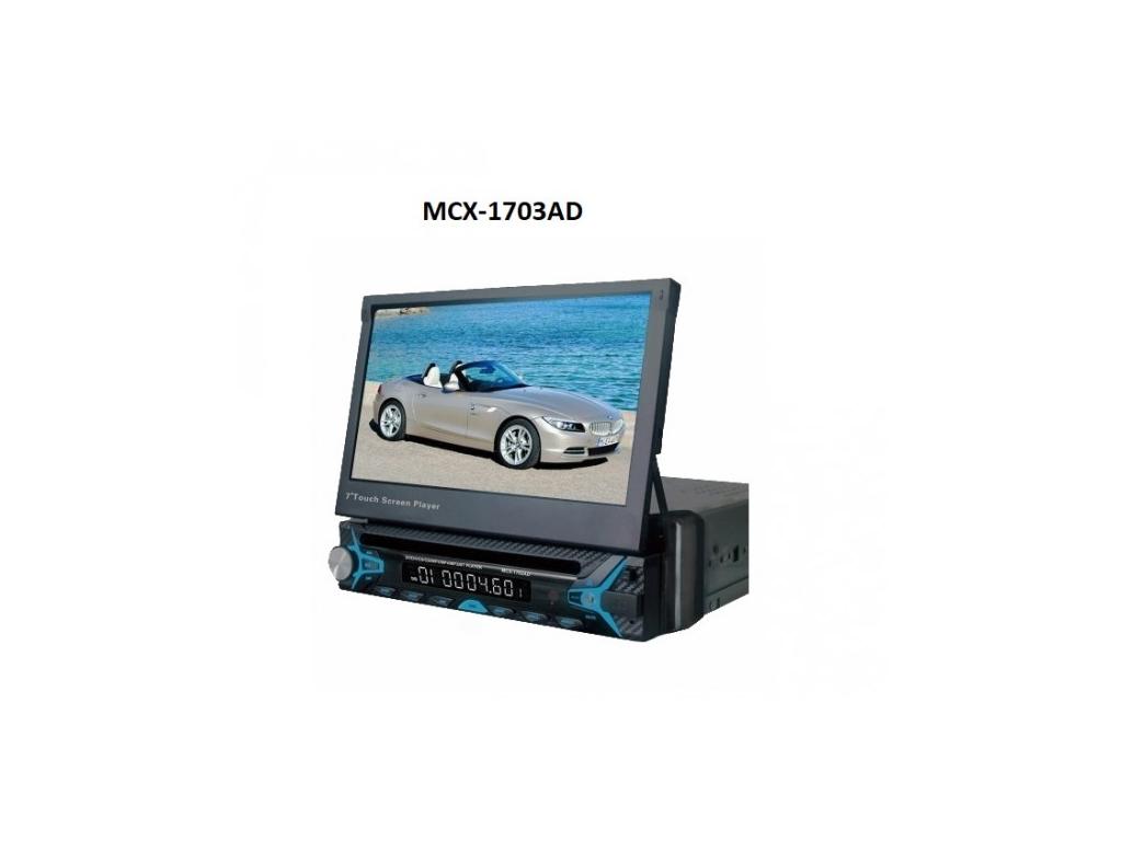 """Ηχοσύστημα Multimedia Αυτοκινήτου, GPS, Bluetooth, TFT Οθόνη Αφής 7"""", MCX-1703AD gps και είδη αυτοκινήτου   ηχοσυστήματα αυτοκινήτου"""