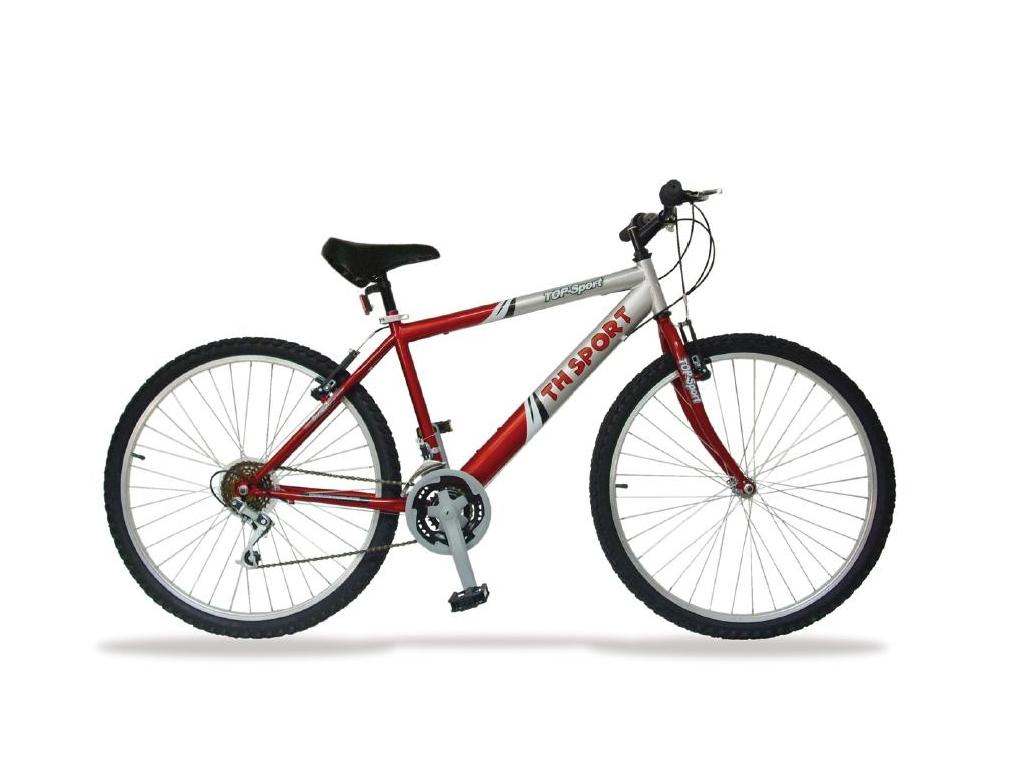 Ποδήλατο 26 ιντσών με 18 ταχύτητες σε Κόκκινο/Ασημί χρώμα, Sogo BIC-26SEO - SOGO αυτοκίνητο  μηχανή  ποδήλατο