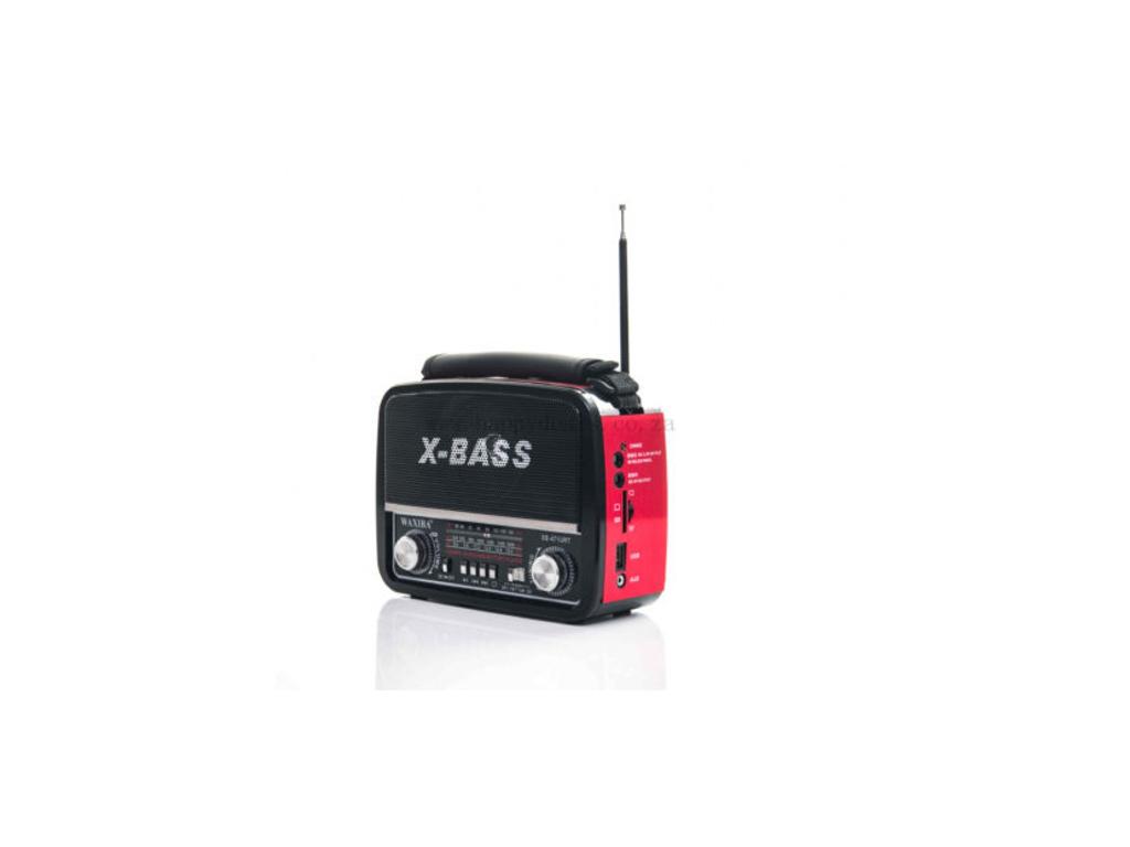 Φορητό ραδιόφωνο FM/USB/SD, Waxiba XB-471URT - WAXIBA ηλεκτρονικά   ήχος