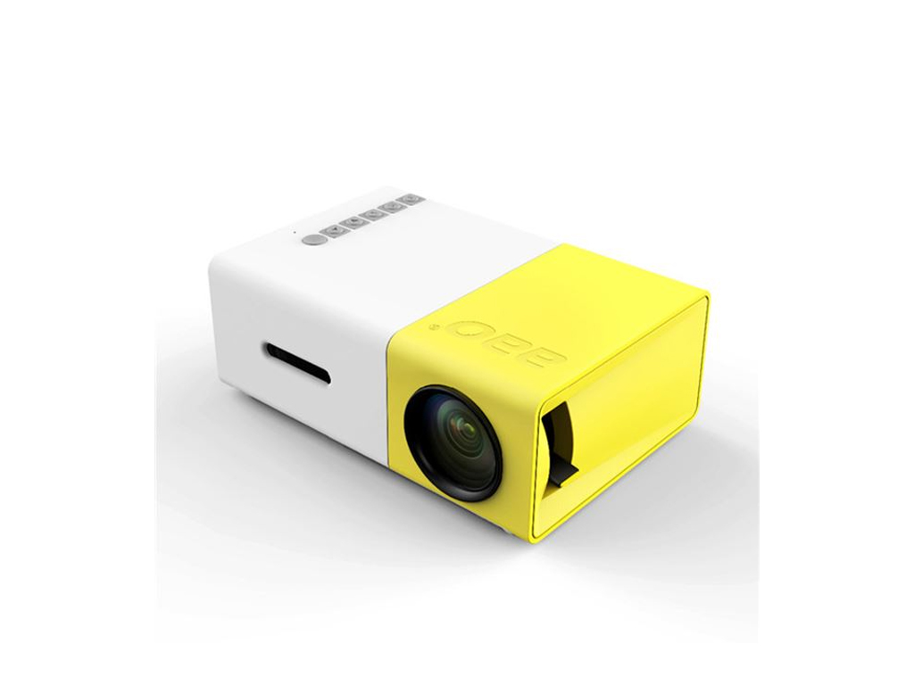 Mini Led Βιντεοπροβολέας - Projector με θύρα HDMI , σύνδεση με TV BOX -Media Pla περιφερειακά και αναλώσιμα   βιντεοπροβολικά