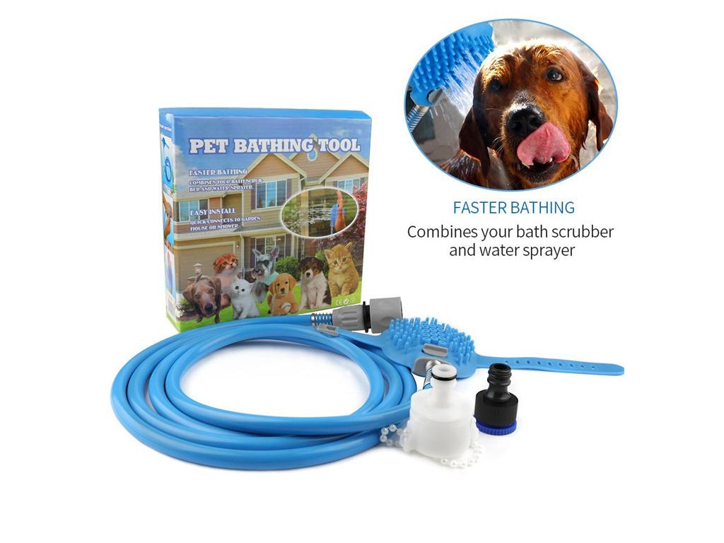 Λάστιχο Βούρτσα Καθαρισμού για Πλύσιμο Σκύλων AquaPaw - Pet Bathing Tool - Cb κατοικίδια   περιποίηση και υγιεινή