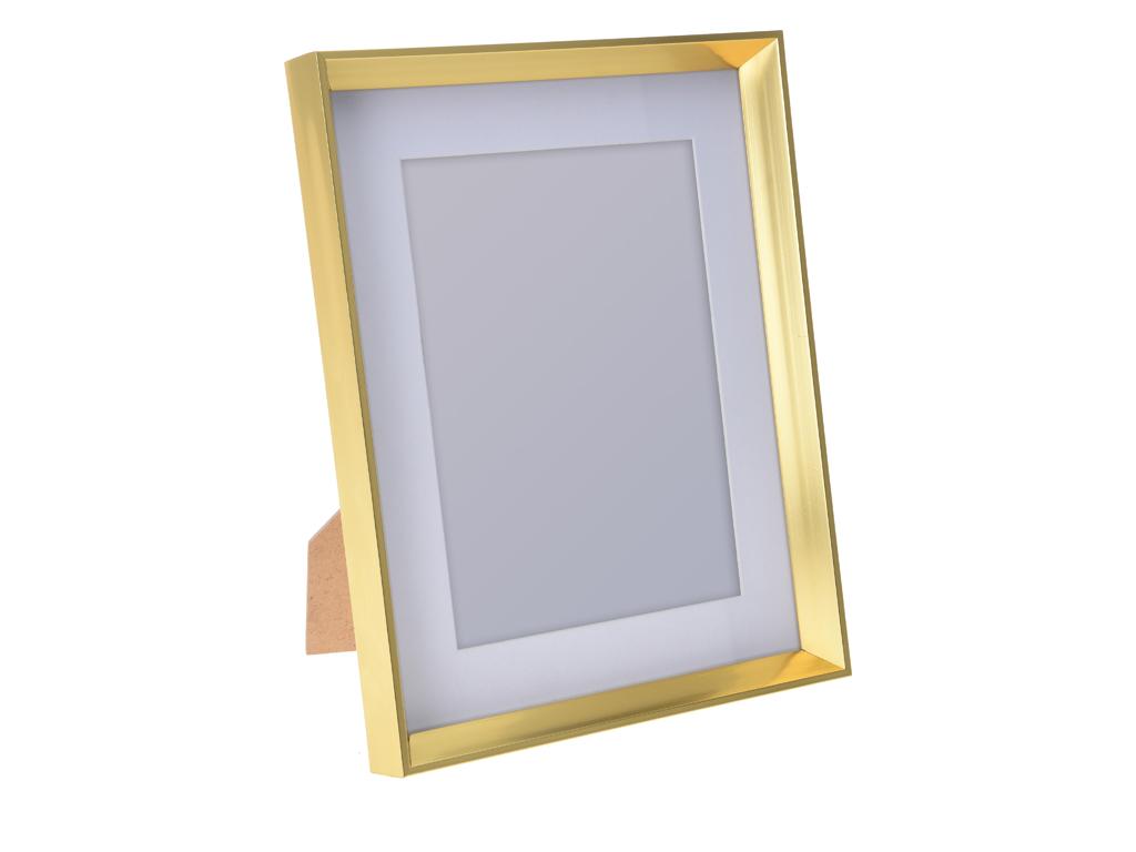 Παραλληλόγραμμη Κορνίζα σε Κλασική γραμμή με χρυσό πλαίσιο, 13x18cm, 837500040 - διακόσμηση και φωτισμός   κορνίζες φωτογραφιών