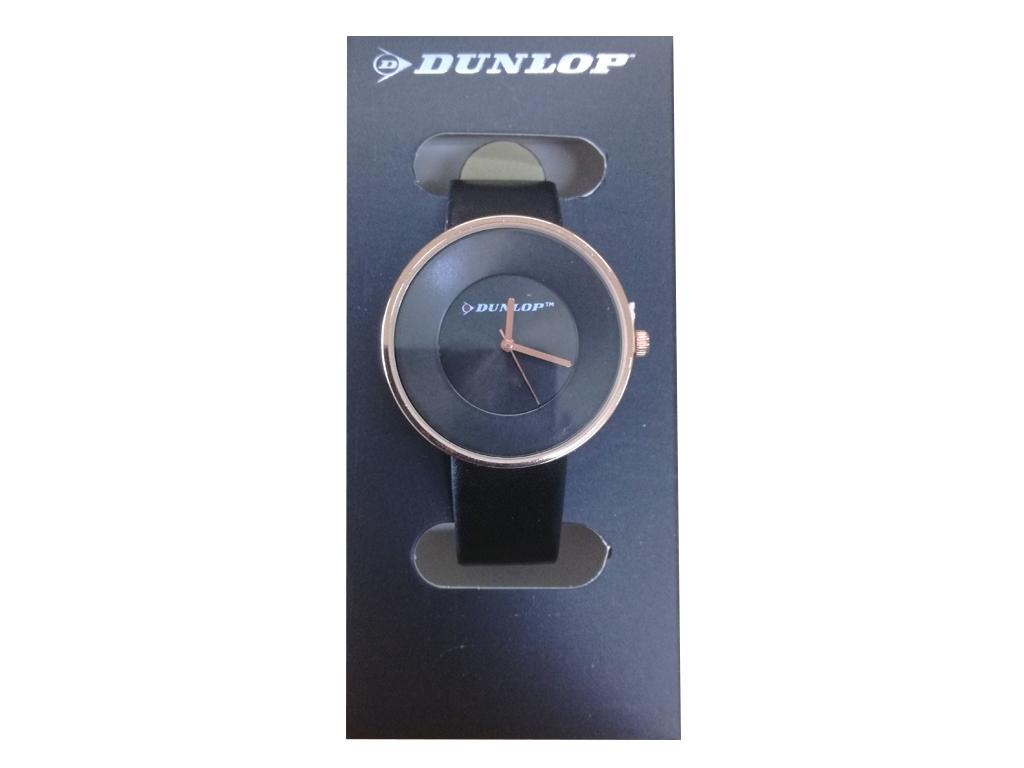 Hellas-tech Dunlop Γυναικείο Αναλογικό Ρολόι Χειρός με Μαύρο Καντράν 1f48a73dfeb