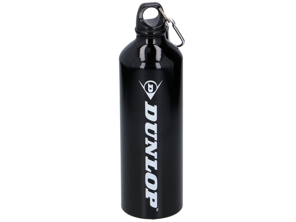 Dunlop Αλουμινένιο Μπουκάλι Παγούρι 750ml για αθλητές, ποδηλάτες, εκδρομείς, αυτοκινητιστές και όχι μόνο, 07929 Μαύρο - Dunlop