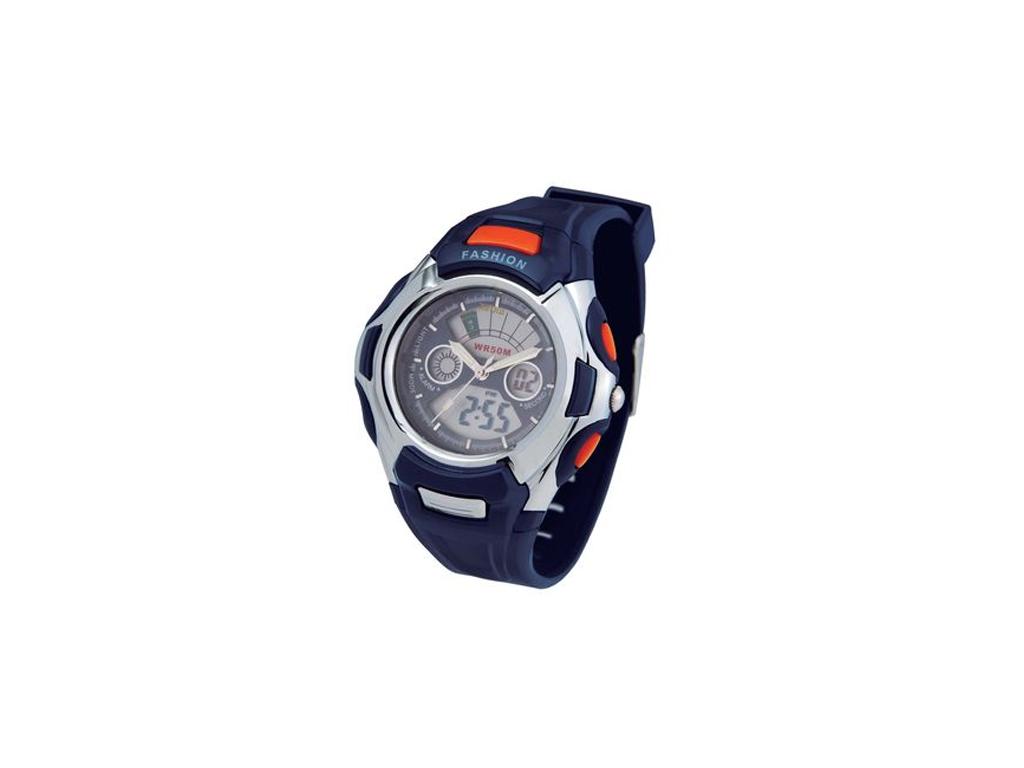 Ρολόι Sport Unisex Αναλογικό Ψηφιακό με πολλές λειτουργίες σε Μπλε σκούρο χρώμα  ρολόγια χειρός   unisex ρολόγια χειρός