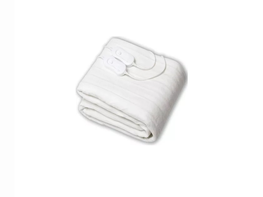 Υπέρδιπλη Ηλεκτρική Κουβέρτα Θερμαινόμενο Υπόστρωμα 60W σε Λευκό χρώμα, 150x140cm, Cosy Winter - Cb
