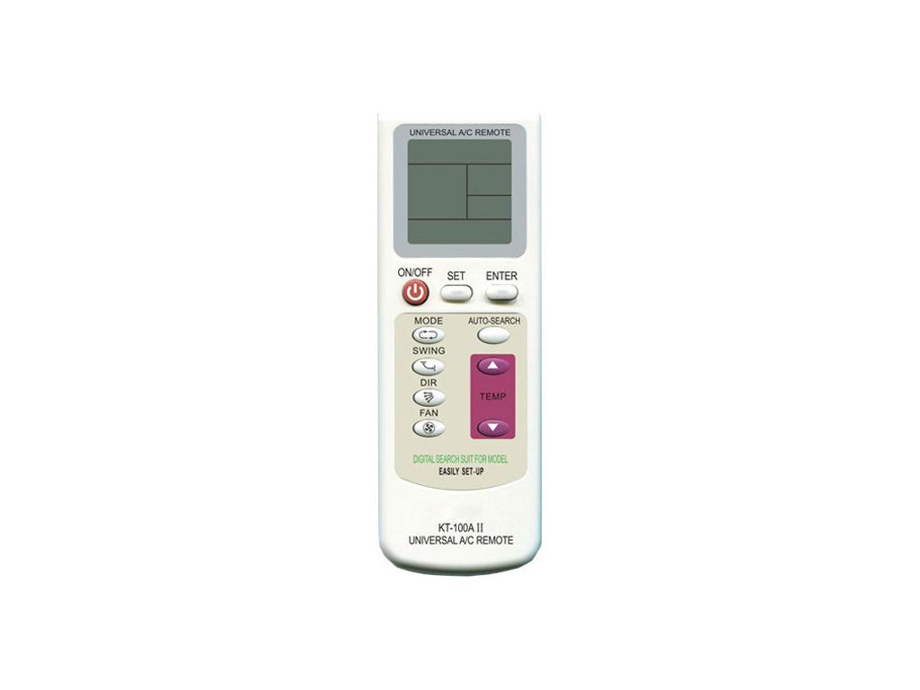Τηλεχειριστήριο για όλα τα Κλιματιστικά Universal AirCondition Remote Control, KT-100A II - Cb