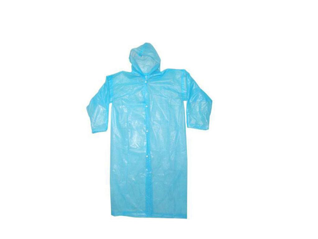 Αδιάβροχη Καπαρντίνα με Κουκούλα που φοριέται εύκολα πάνω από τα ρούχα σε ONE SI είδη ένδυσης και υπόδησης   άλλα είδη ένδυσης