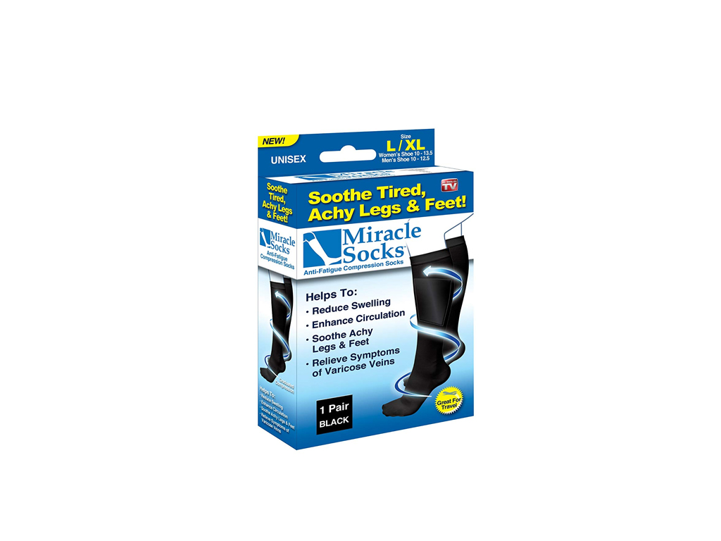 Προϊόντα Αντιμετώπισης Πόνου- Miracle Socks Κάλτσες Διαβαθμισμένης Συμπίεσης  για Ανακούφιση από Πόνους   Πρηξίματα - hellas-tech.gr 9fbb9b880fc