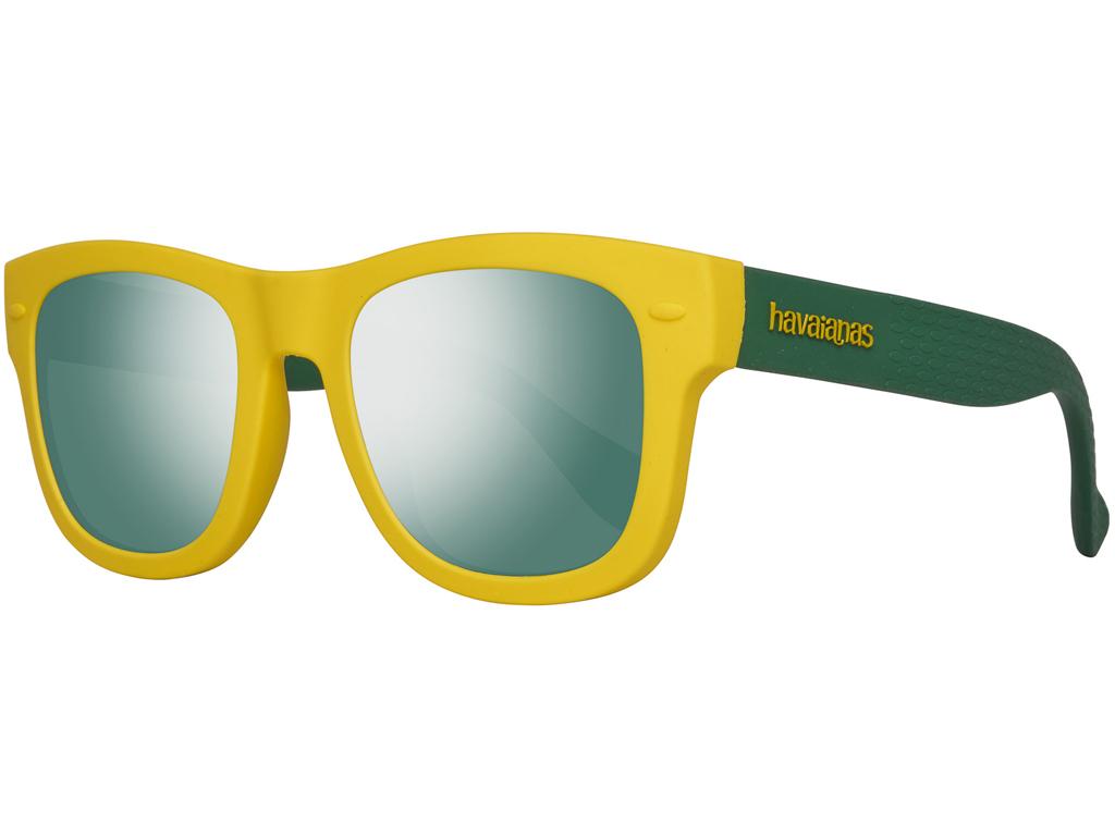 Havaianas Παιδικά Γυαλιά Ηλίου με Κίτρινο Πράσινο σκελετό, Γκρι Φακό Καθρέφτη με αξεσούαρ   γυαλιά ηλίου