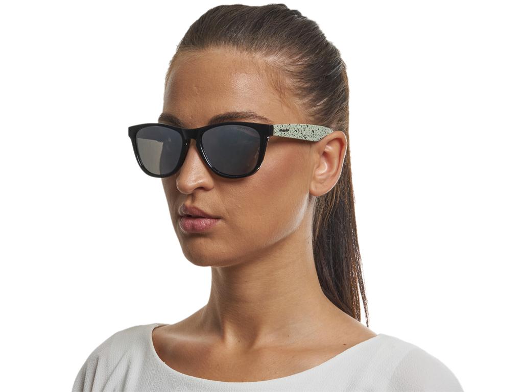bad3051d6d Polaroid Unisex Γυαλιά Ηλίου με Μαύρο και Λευκό σκελετό