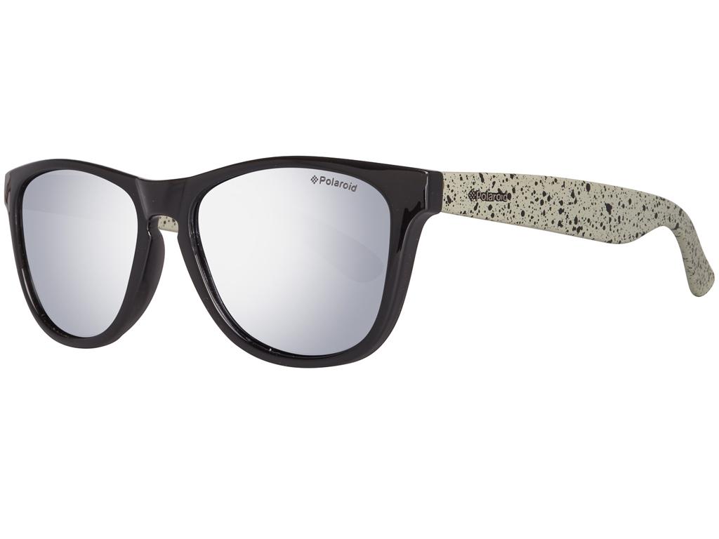 Polaroid Unisex Γυαλιά Ηλίου με Μαύρο και Λευκό σκελετό e85c4a34f6a