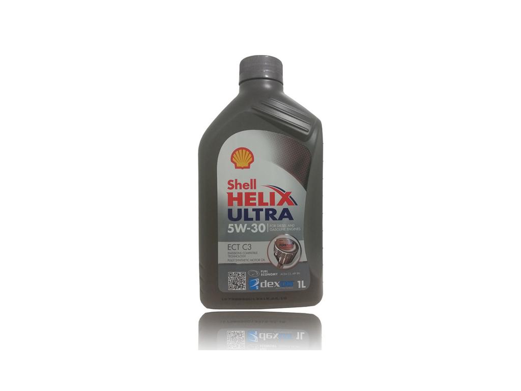 Επαγγελματικό Λιπαντικό Shell Helix Ultra ECT C3 5W30 1L - Shell λιπαντικά   shell