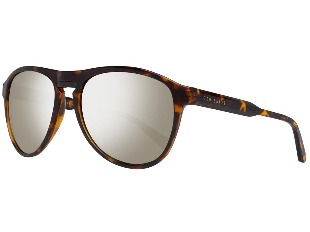 Ted Baker Ανδρικά Γυαλιά Ηλίου με Καφέ σκελετό Ταρταρούγα, Χρυσό Φακό Καθρέφτη μ γυαλιά ηλίου   ανδρικά γυαλιά ηλίου
