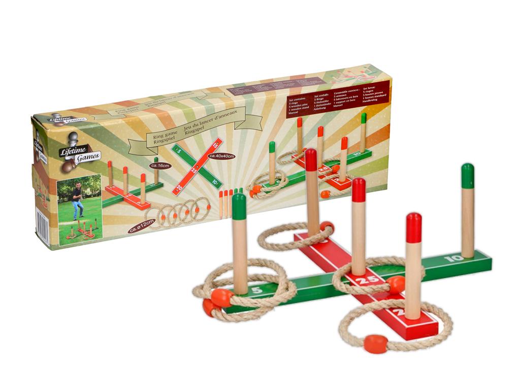 Εκπαιδευτικό Ξύλινο Παιχνίδι Εξωτερικού και Εσωτερικού Χώρου με Κρίκους και Βάση παιχνίδια   παιχνιδια για εξωτερικούς χώρους