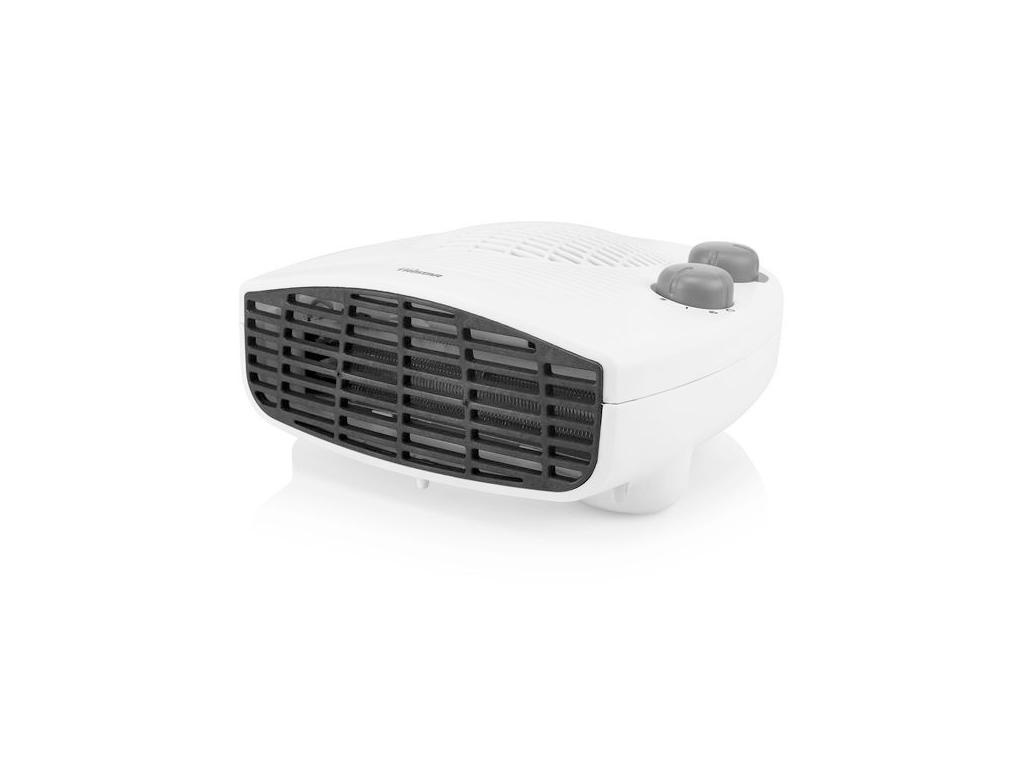 Φορητό Ηλεκτρικό Αερόθερμο με Ρυθμιζόμενο Θερμοστάτη 1800-2000W σε Λευκό / Μαύρο χρώμα, 22.5cmx11x22.5cm, Tristar KA5046 - Tristar