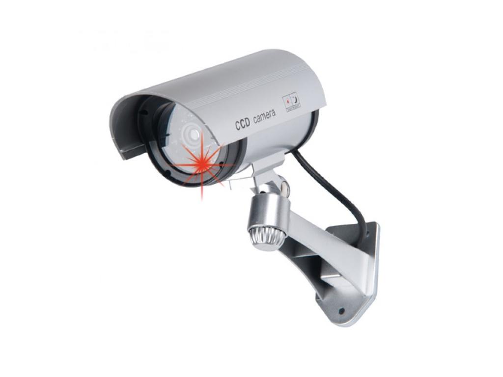 Ψεύτικη Ασύρματη Κάμερα Παρακολούθησης Dummy Security Camera με φως LED, Grundig αυτοματισμοί και ασφάλεια   κάμερες