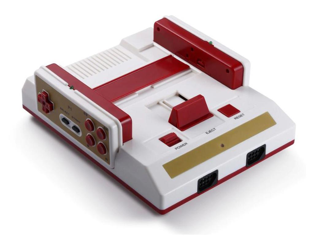 Ρετρό Παιχνιδοκονσόλα με 88 παιχνίδια εγκατεστημένα στην μνήμη, δύο χειριστήρια  παιχνίδια   παιχνιδοκονσόλες και αξεσουάρ gaming