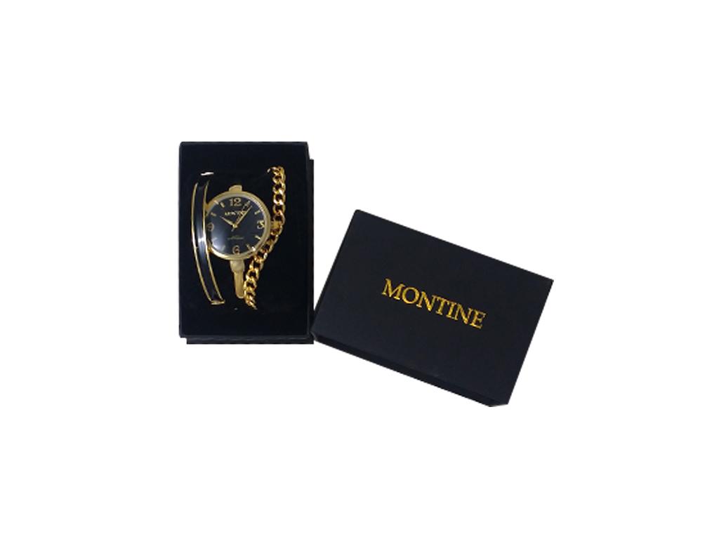 Montine MOX5124L22 Σετ συλλογή Κοσμημάτων από Ανοξείδωτο Ατσάλι με Γυναικείο Ρολ γυναικεία αξεσουάρ και κοσμήματα   σετ κοσμημάτων