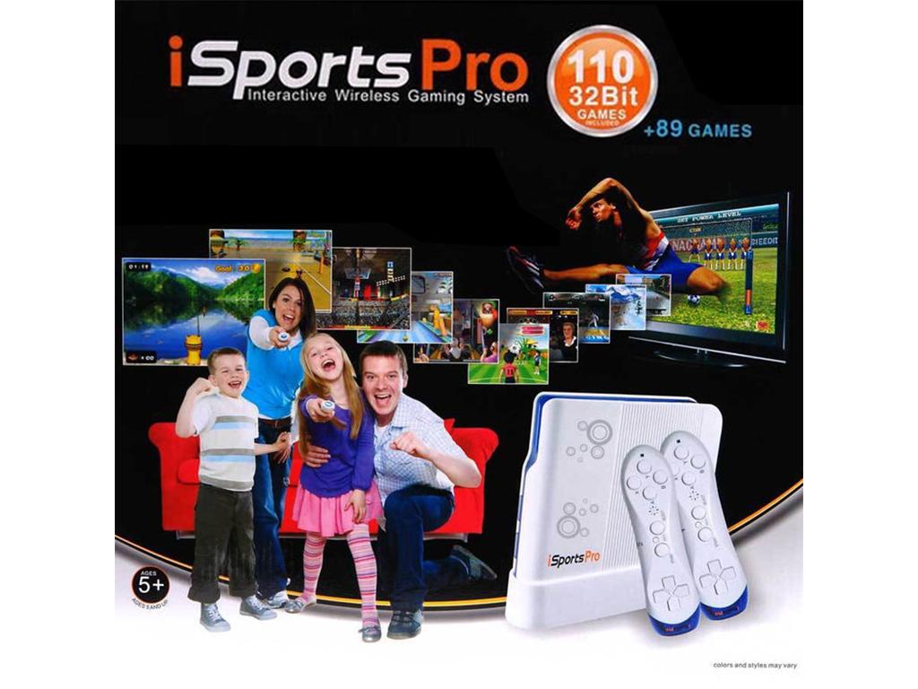 Διαδραστική Ασύρματη Κονσόλα Παιχνιδιών Τηλεόρασης, Interactive iSports Pro 32bi παιχνίδια   παιχνιδοκονσόλες και αξεσουάρ gaming