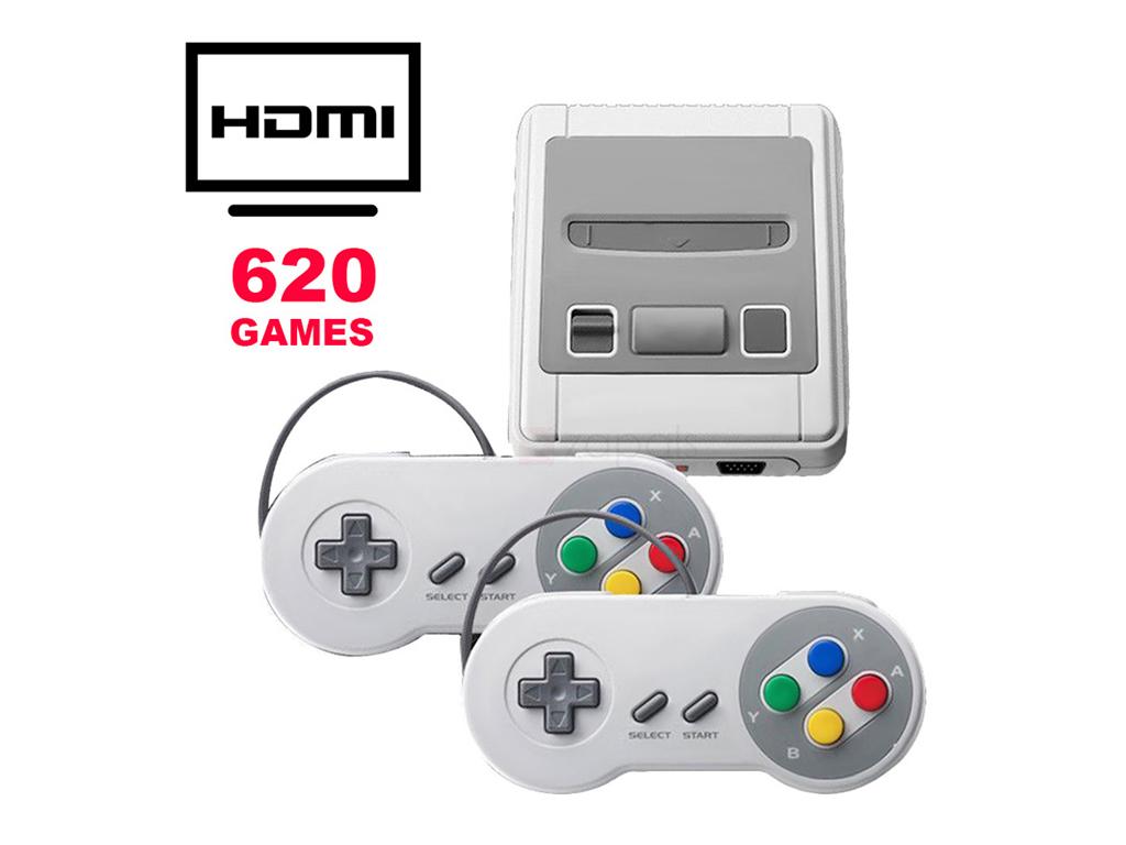Ρετρό Παιχνιδομηχανή με 620 παιχνίδια και έξοδο HDMI Mini Entertainment System - παιχνίδια   παιχνιδοκονσόλες και αξεσουάρ gaming