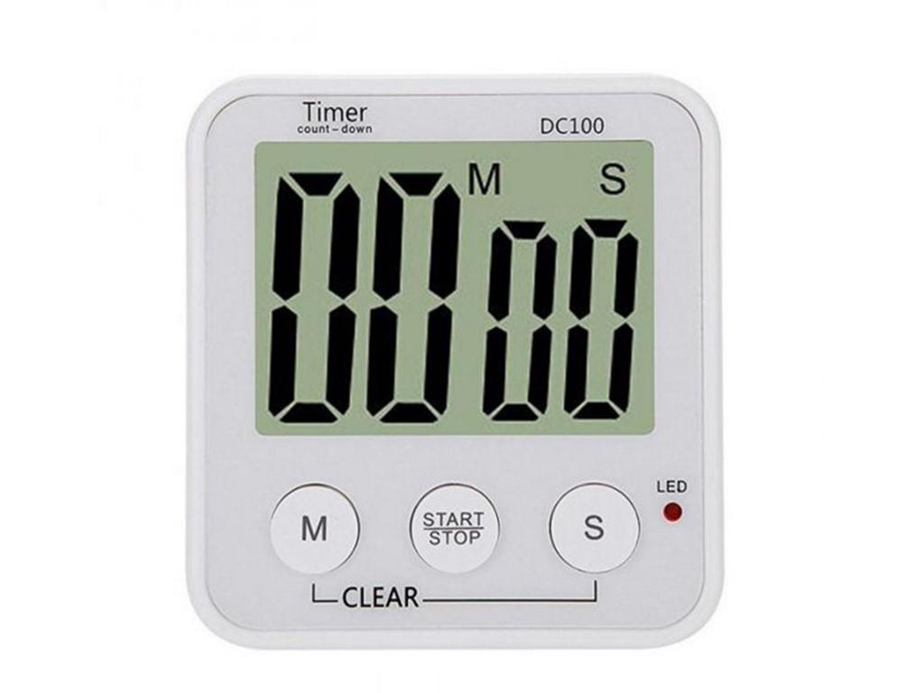 Ψηφιακό χρονόμετρο χρονοδιακόπτης αντίστροφης μέτρησης για μαγείρεμα με LCD οθόν αξεσουάρ και εργαλεία κουζίνας   άλλα αξεσουάρ κουζίνας