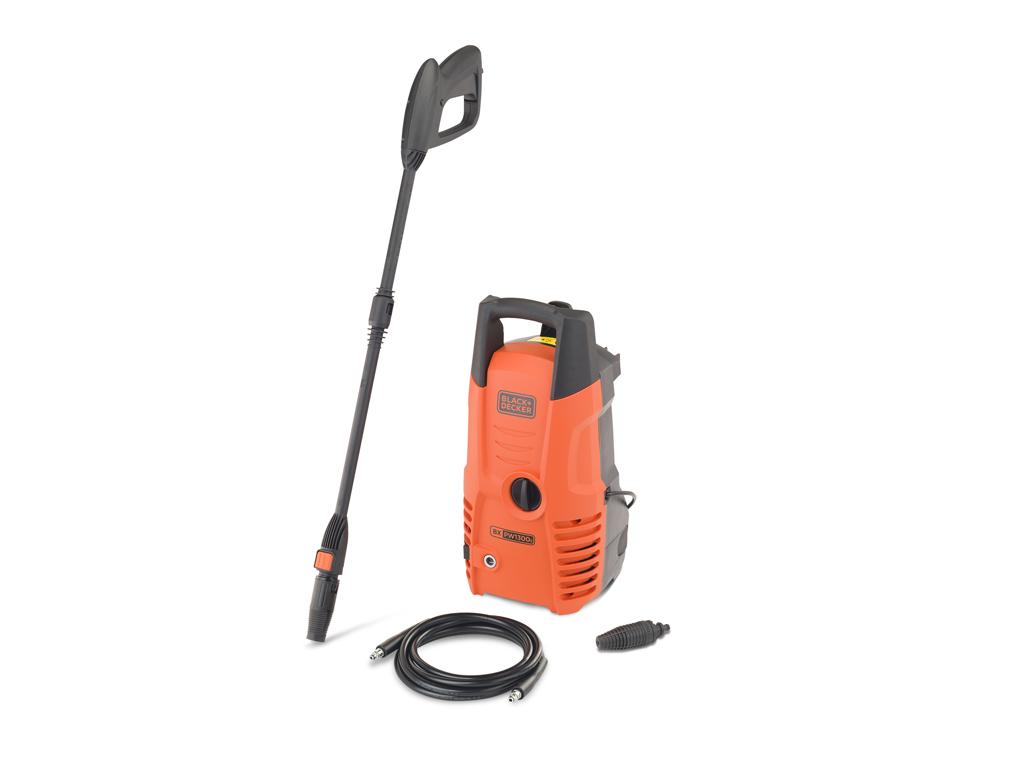 Black & Decker Πιεστικό Μηχάνημα γενικής χρήσης 100 bar 1300 Watt, 14075 - Black καθαριότητα και σιδέρωμα   ηλεκτρικές σκούπες