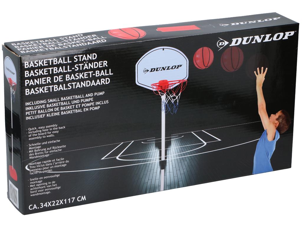 Dunlop Σετ Παιδική Μπασκέτα με ταμπλό 74d8563139b